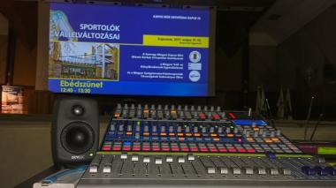 Konferencia, vállalati rendezvény, koncert hangtechnika