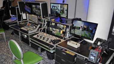 Mobil stúdió videoközvetítés